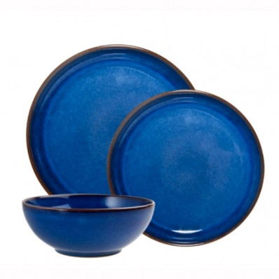 acffe4251b54 Denby Imperial Blue 12 Piece Breakfast Set - Havens