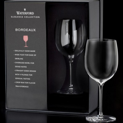 Waterford Crystal Elegance Wine Story Bordeaux Wine Glass