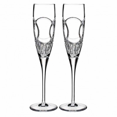 Waterford Crystal Love Flutes Wedding Vows Flute Set Of 2 Havens