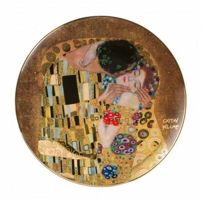 Goebel 36cm Wall Plate Klimt The Kiss Havens