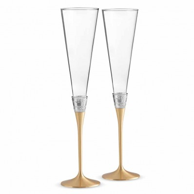 Gold Toasting Flutes - Set of 2 (25105)