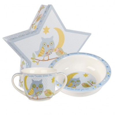 churchill amp queens china twinkle twinkle blue porringer