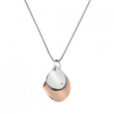 Soft Pendant Rose Gold Plated Accents (25900)