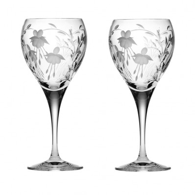 Set of 2 Small Wine Glasses - New Shape (26177)