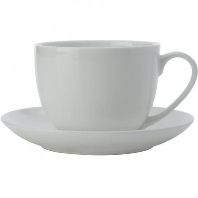 Coupe Tea Cup and Saucer (2631)