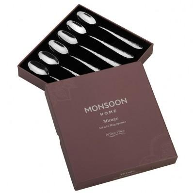 Arthur Price Monsoon Mirage Mug Spoons - set of 6