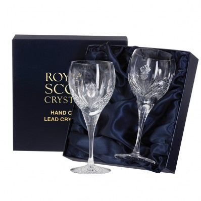 Pair of Large Wine Glasses (Presentation Boxed) (26661)