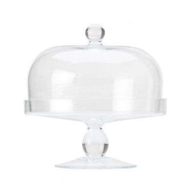 Cake Stand With Dome 20cm (27446)