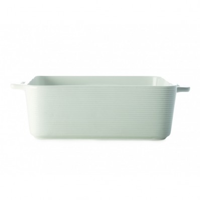 Casual White Square Baker Large (27494)
