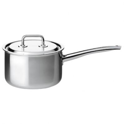 Spring Brigade Premium Deep Saucepan with Lid 18cm