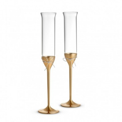 Gold Toasting Flutes - Set of 2 (27883)
