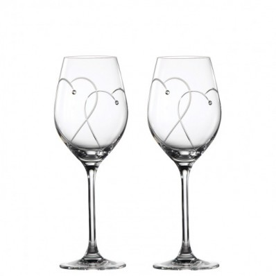 Two Hearts Entwined Wine Glasses - Box of 2 (28217)