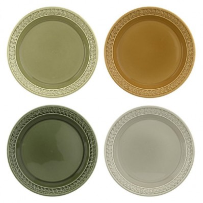 Harmony 20cm Side Plate Set of Four (29091)
