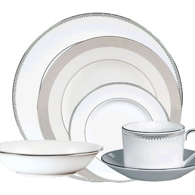 Vera Wang Grosgrain 24 Piece Dinner Set Havens