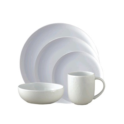5 Piece Place Setting (3635)  sc 1 th 224 & Jamie Oliver White Porcelain 5 Piece Dinner Place Setting