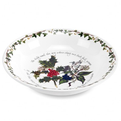 Portmerion Holly & Ivy 20cm Pasta Bowl (4727)