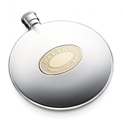 Classic Flask with Gold Detail (4833)