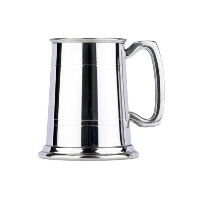 Pewter 1pt Commodore Tankard (4840)