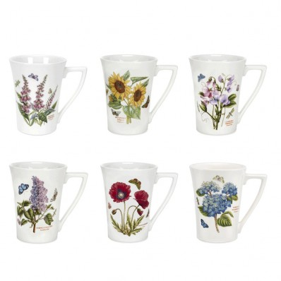 280ml Mandarin Mug Set of 6 Assorted (6368)
