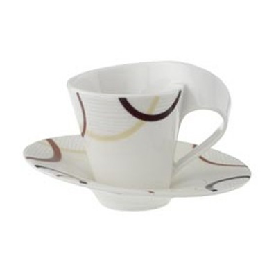 villeroy boch new wave ethno espresso coffee cup and. Black Bedroom Furniture Sets. Home Design Ideas