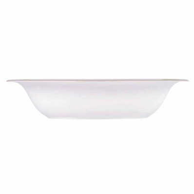 Wedgwood Vera Wang Lace Gold Open Vegetable Dish (7742)