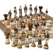 Hand Painted Chess Sets