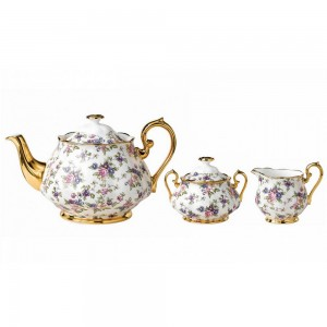 Royal Albert 100 Years 1940 Chintz Tea Set