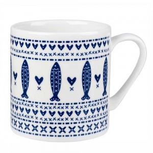 Churchill & Queens China Sieni Scandie Fishie mug - £6.00